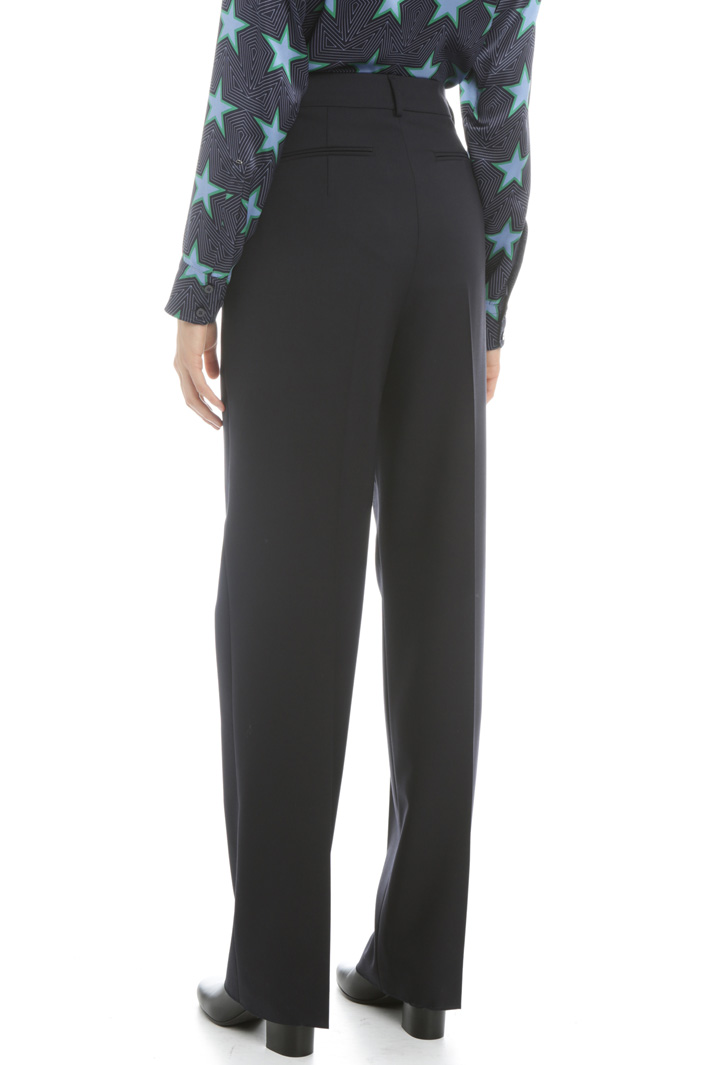 Wool gabardine trousers Intrend
