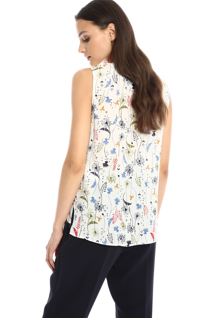 Bow detail top Intrend