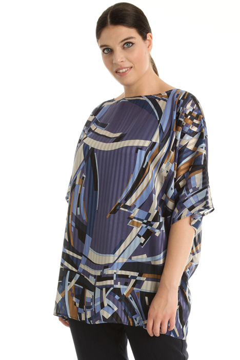 Pure silk satin tunic Intrend
