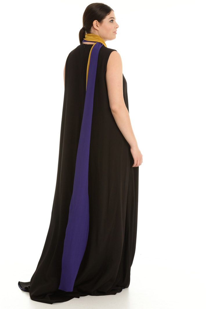 Long sash dress Intrend