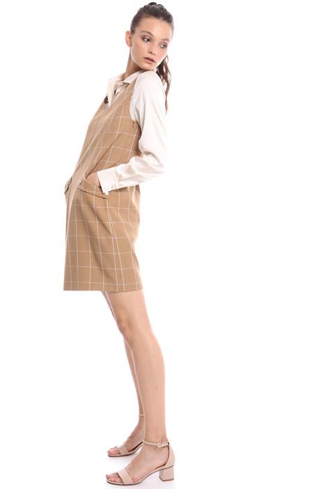 Sleeveless check dress Intrend