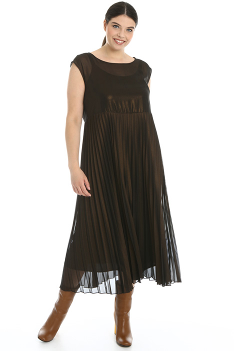 Laminated georgette dress Intrend