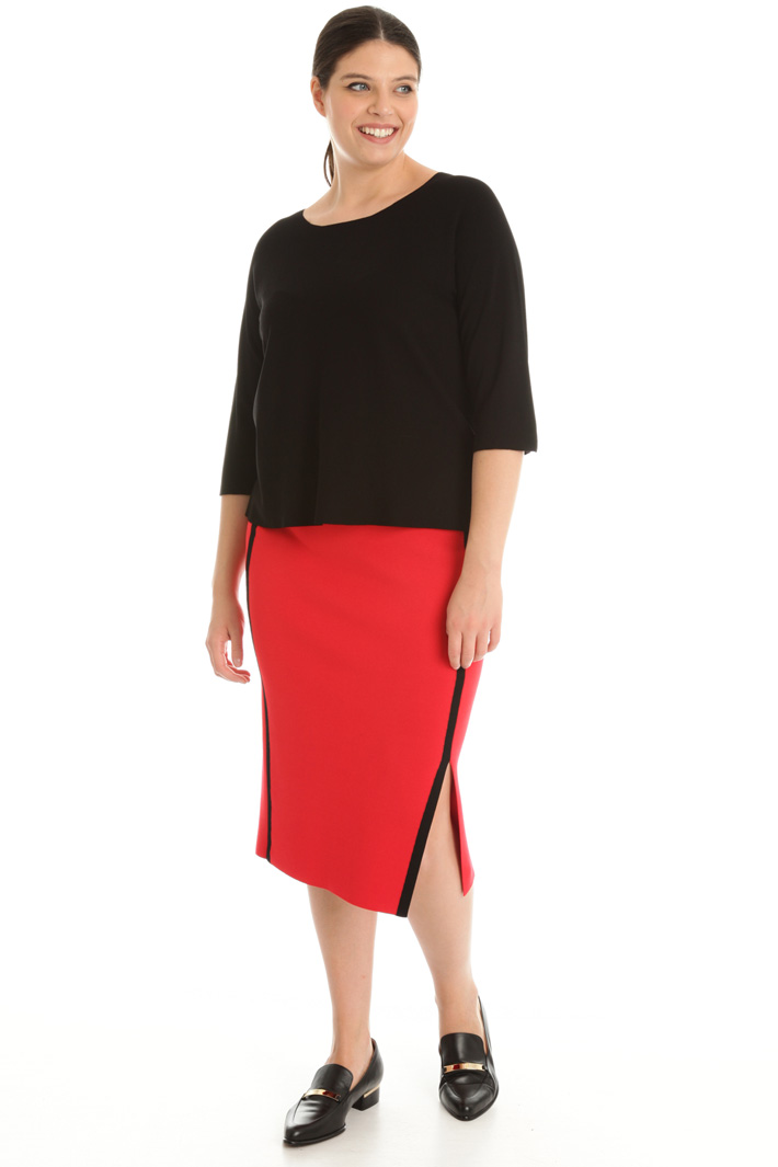 Knitted tube skirt Intrend