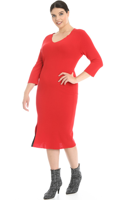 Knitted sheath dress Intrend