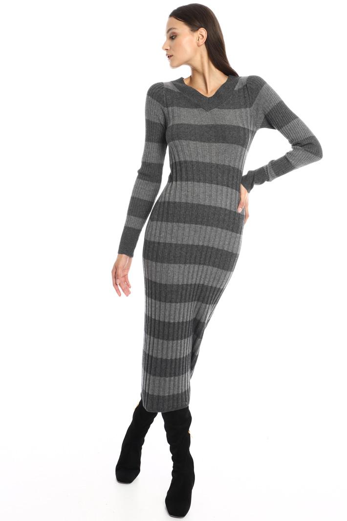 Knit sheath dress Intrend