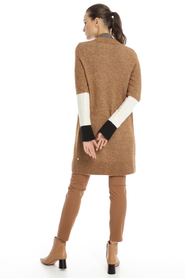 Colour block cardigan Intrend