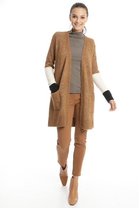 Colour block cardigan Intrend