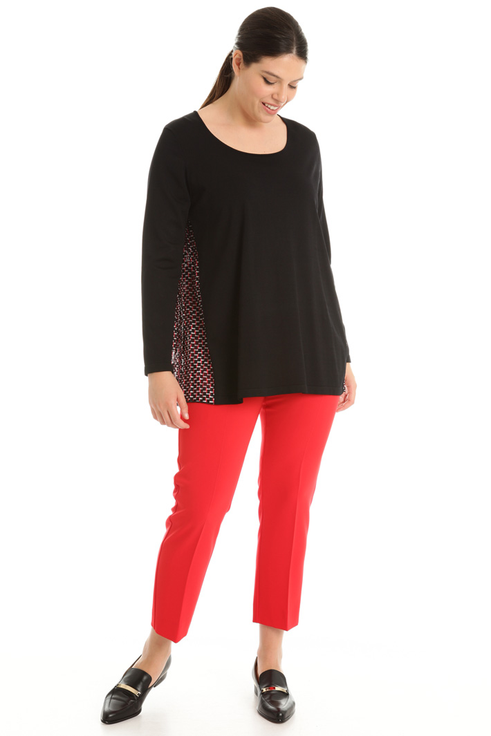 Pleated sweater Intrend