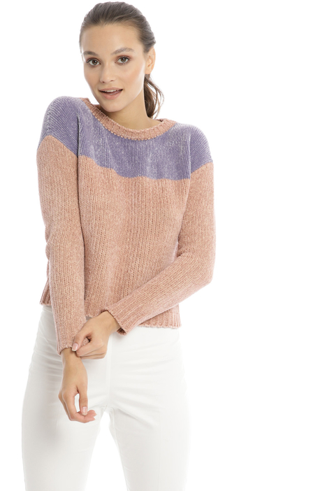 Chenille boxy fit sweater Intrend