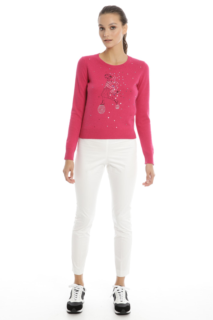 Sequin sweater Intrend