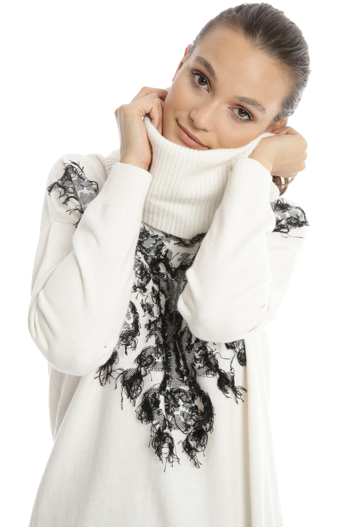 Soft neck sweater Intrend