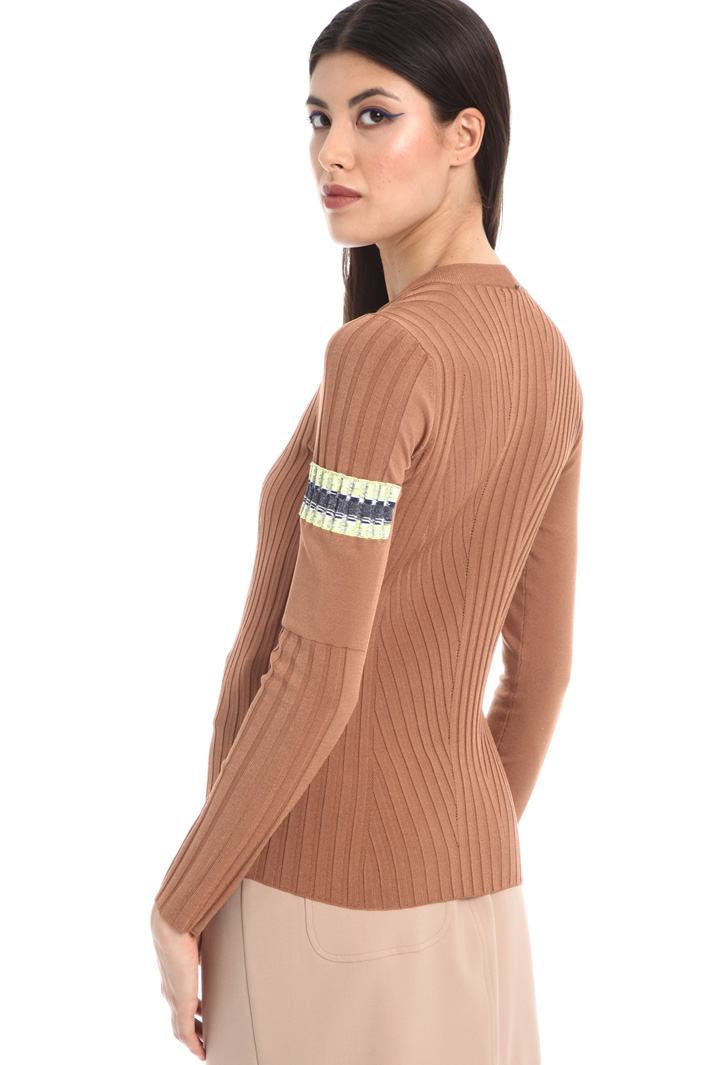 Pocket sleeve sweater Intrend