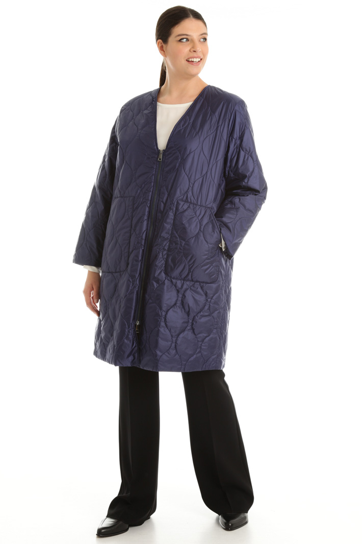 Padded duster coat Intrend