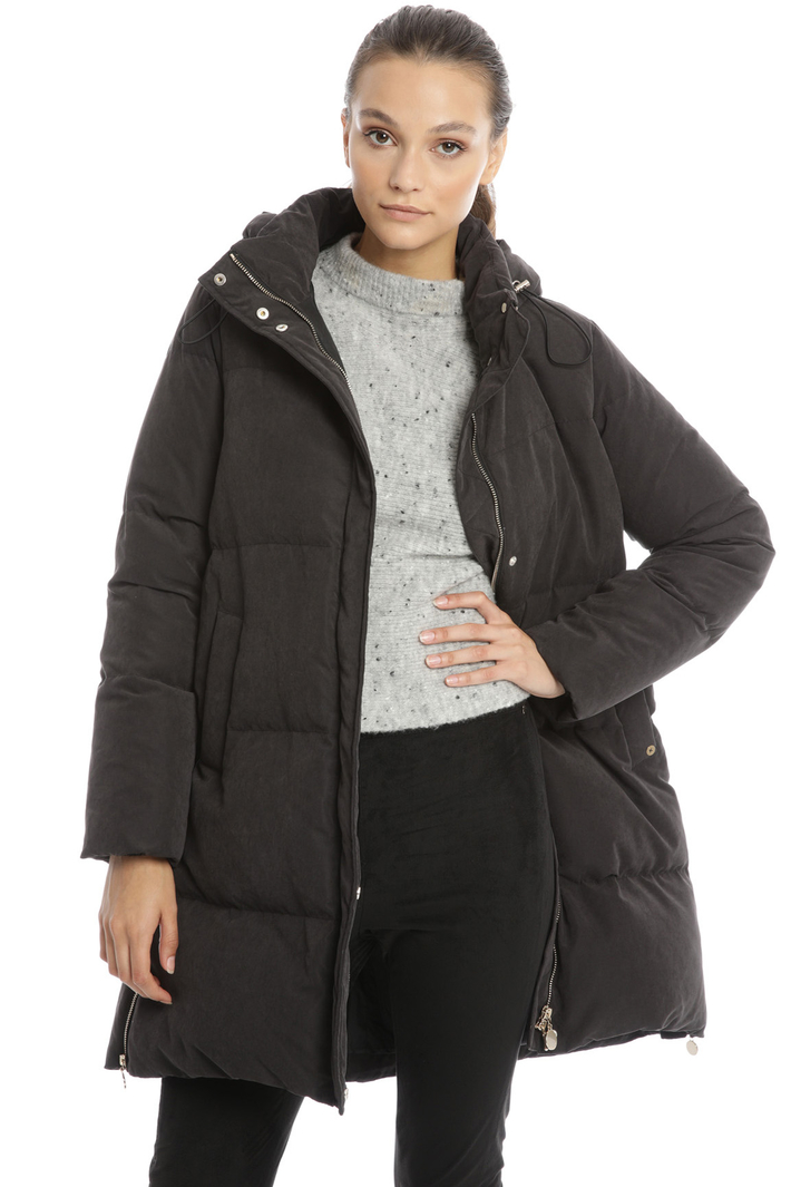 Oversized quilted down coat Intrend