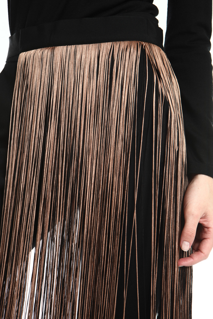 Belt with fringes Intrend
