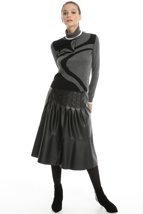 Faux leather skirt Intrend