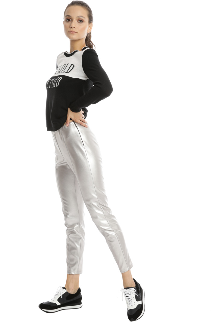 Coated jersey trousers Intrend