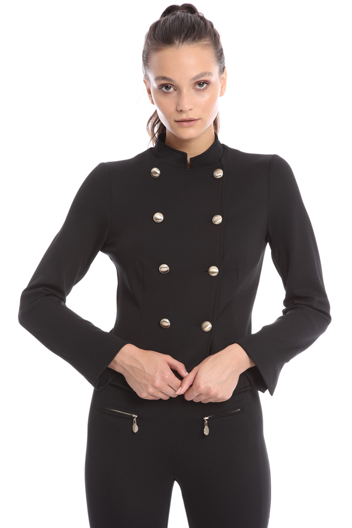 Double-breasted tail jacket Intrend