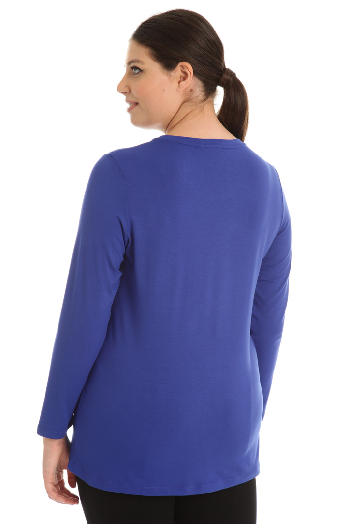 Crepe de Chine T-shirt Intrend