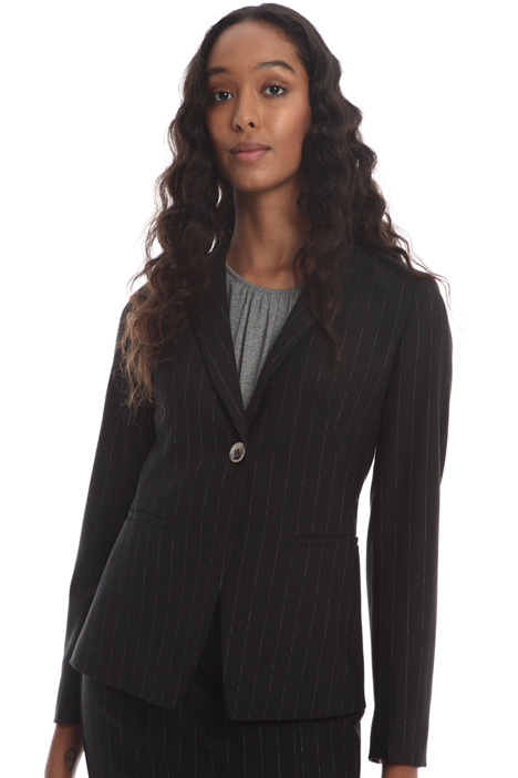 Single-button wool blazer Intrend