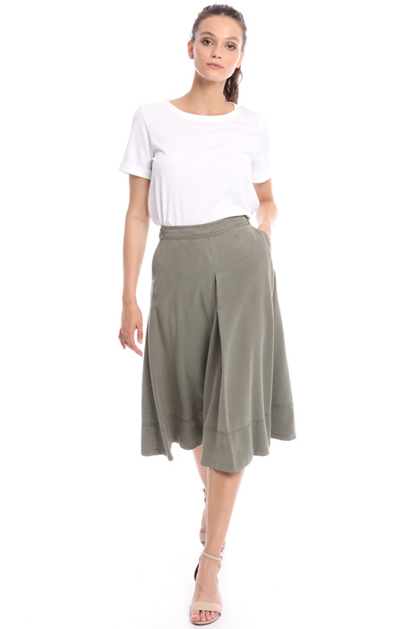 Fluid A-line skirt Intrend