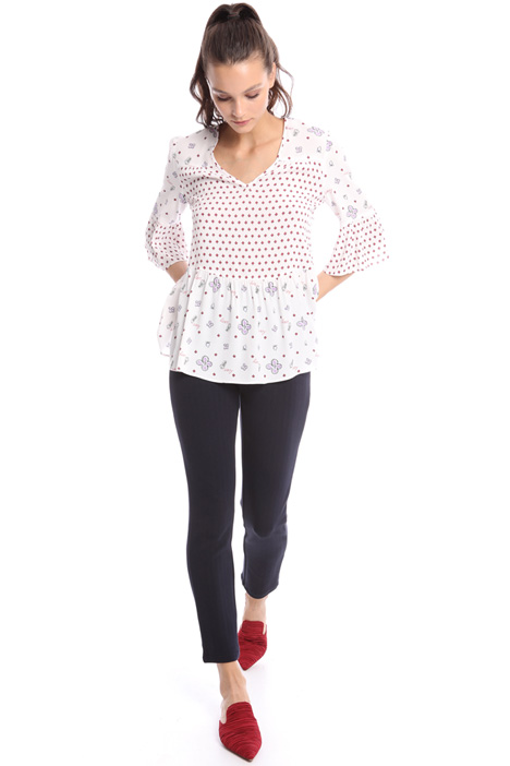 Bell sleeve blouse Intrend