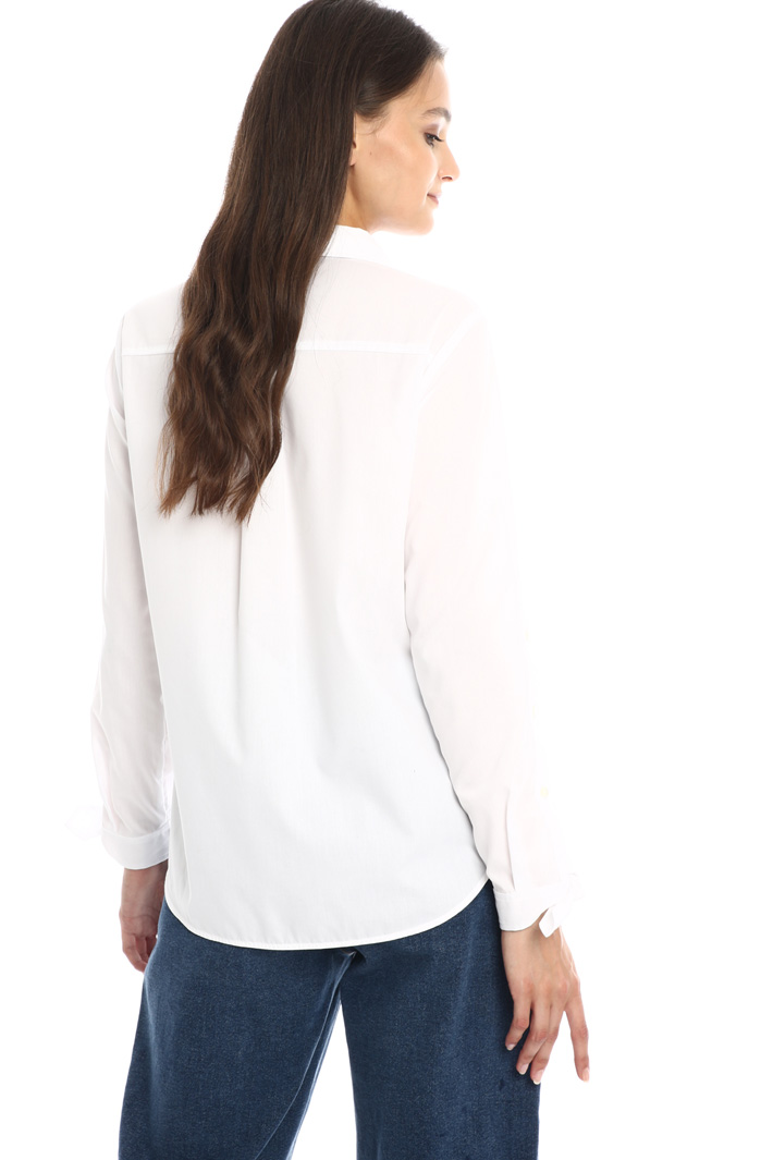 Knotted sleeve shirt Intrend
