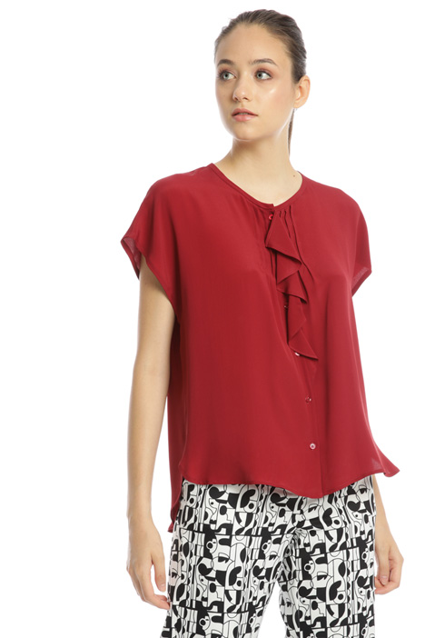 Shirt with flounce Intrend