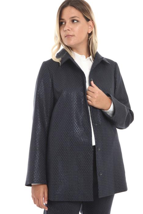 Lamé jacquard jacket Intrend