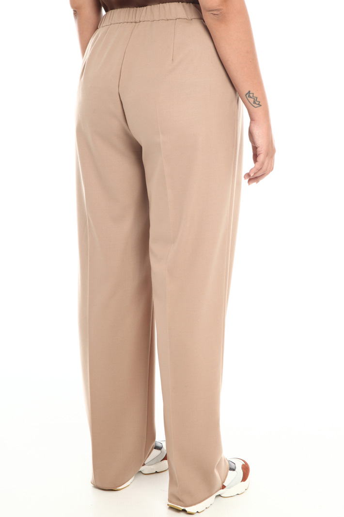Stretch wool trousers Intrend