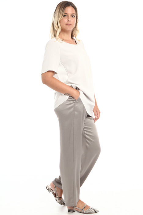 Satin sablé trousers Intrend
