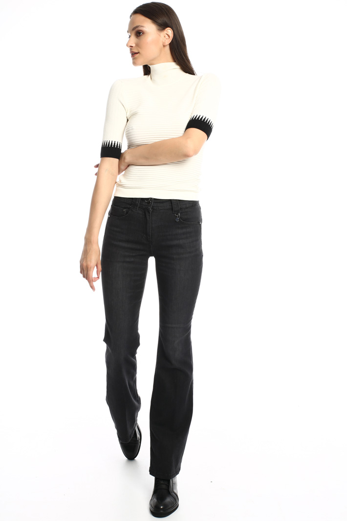 Stretch wide-leg trousers Intrend