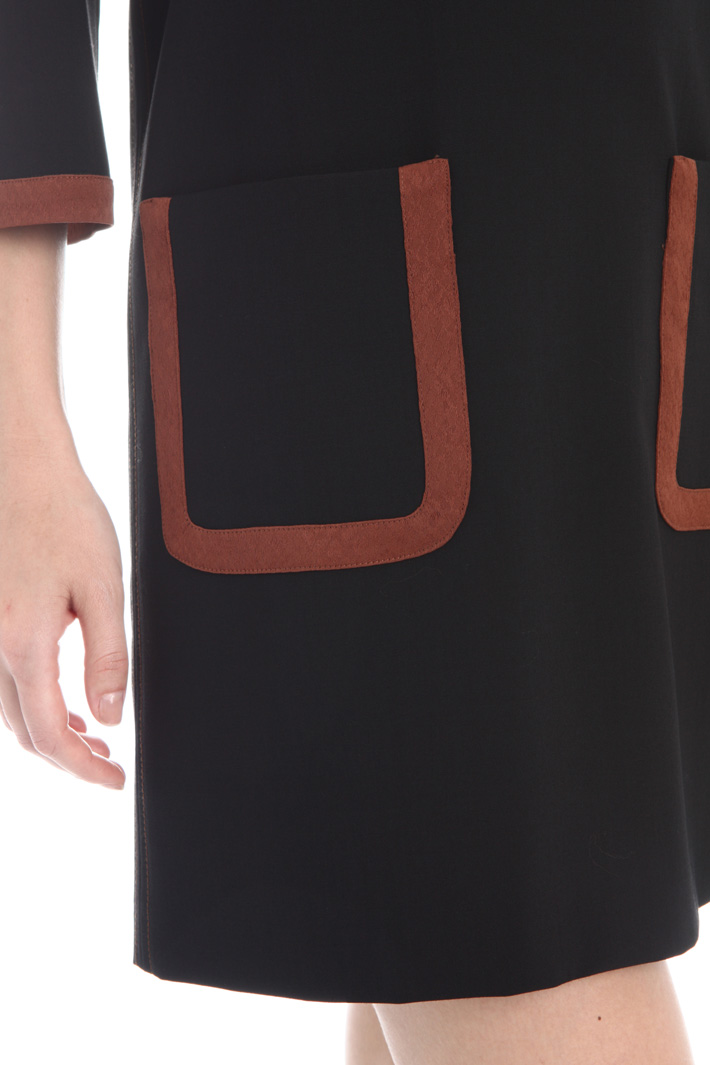 Long wool tunic  Intrend