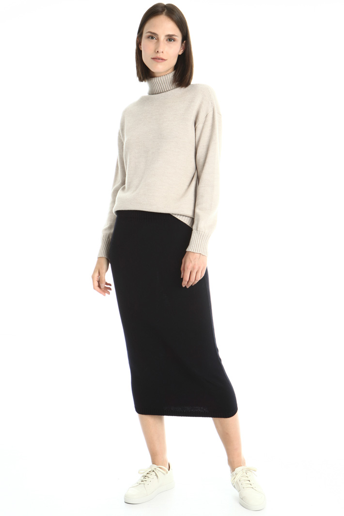Knitted sheath skirt Intrend