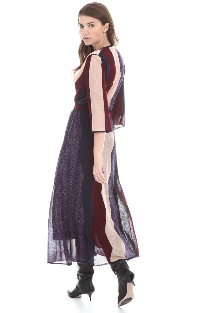 Long lamé dress Intrend