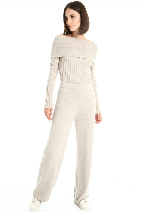 Knit wool trousers Intrend