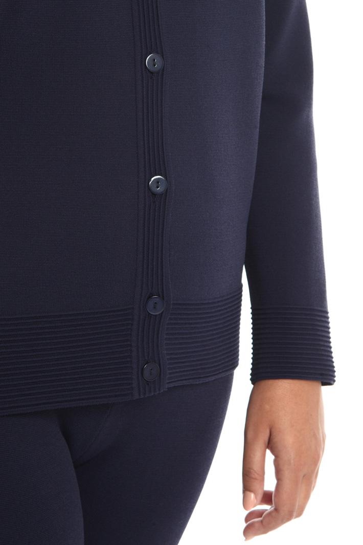 Cardigan with raised stitch Intrend