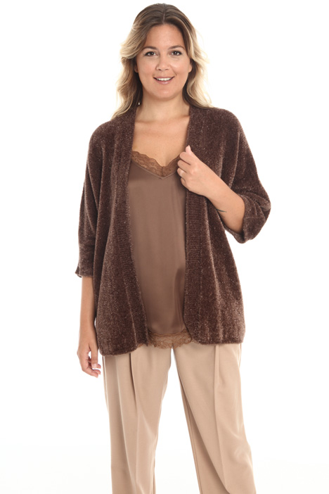 Faux-fur cardigan Intrend