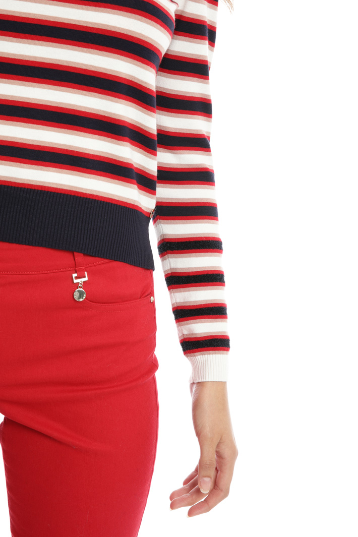 Slim fit striped sweater Intrend