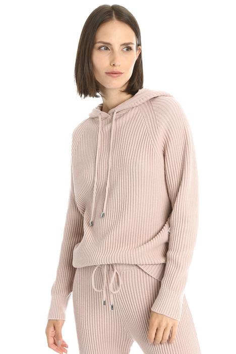 Hooded wool jumper Intrend