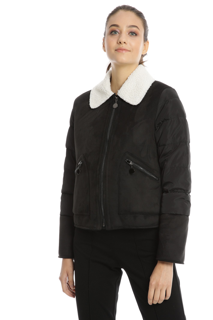 Quilted jersey jacket Intrend