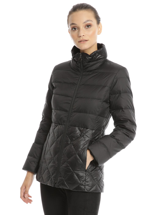 Matt-glossy down jacket Intrend