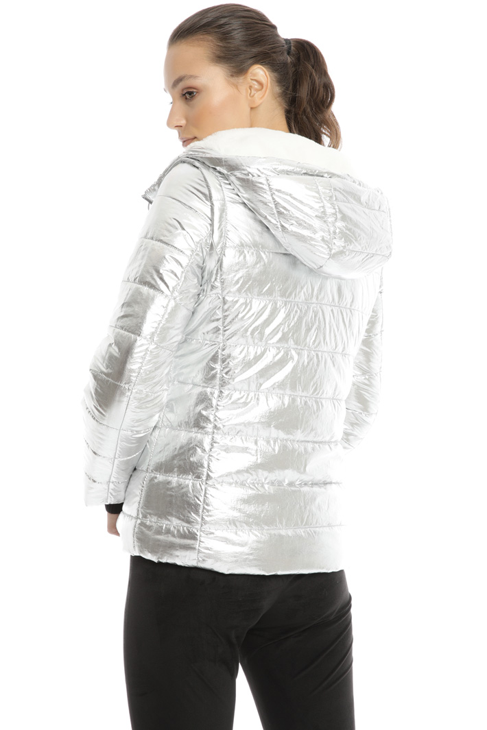 Reversible laminated jacket Intrend