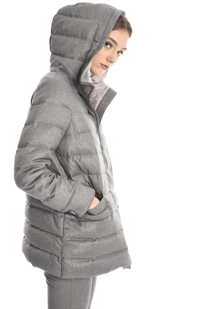 Lurex down coat Intrend