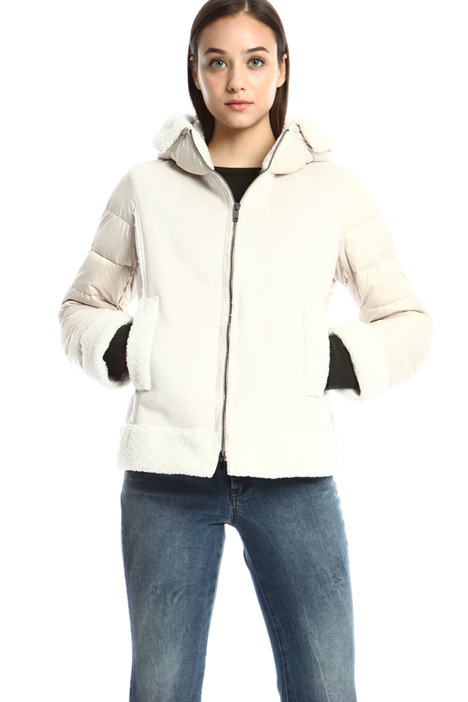 Short puffer jacket Intrend