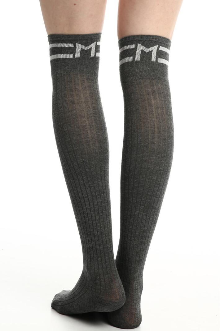 Knit viscose socks Intrend