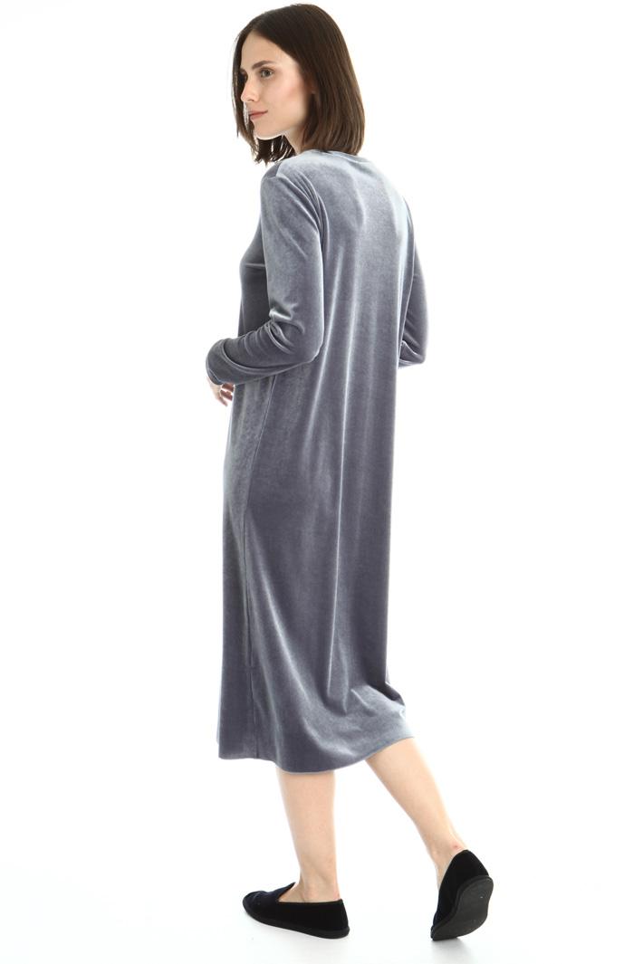 Fluid velvet dress Intrend