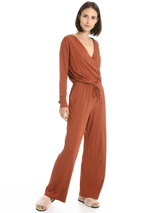 Stretch jersey jumpsuit Intrend