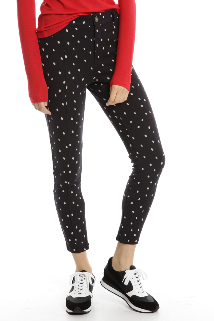 Skinny jersey trousers Intrend