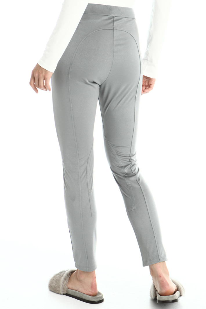 Suede effect trousers Intrend